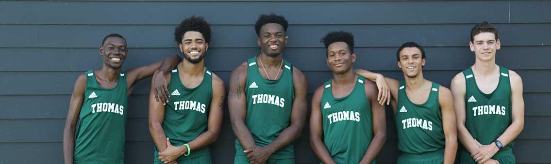 Thomas University's 2019 Men's Cross Country Team