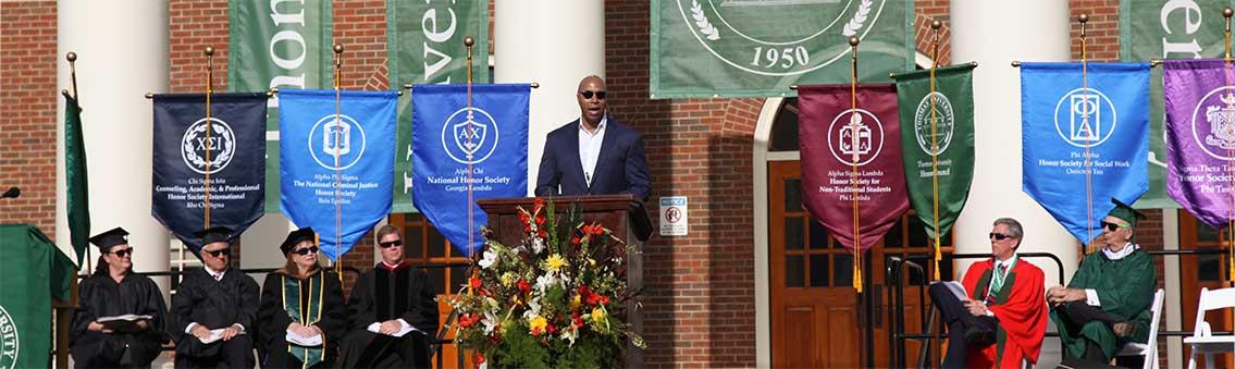 2018 Thomas University Commencement ceremony