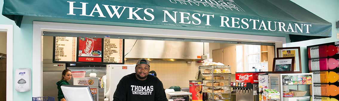 Hawks Nest Restaurant meal plan cost