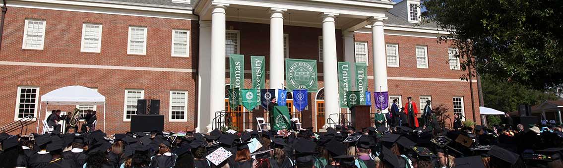 Thomas University commencement