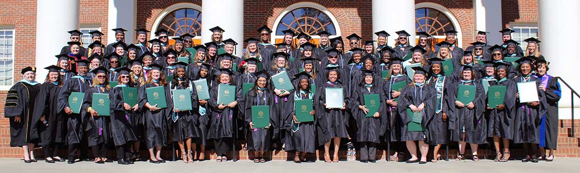 Thomas University Education Department graduated on Commencement Day