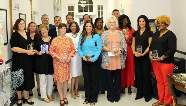 TU 2019 Alumni Award winners
