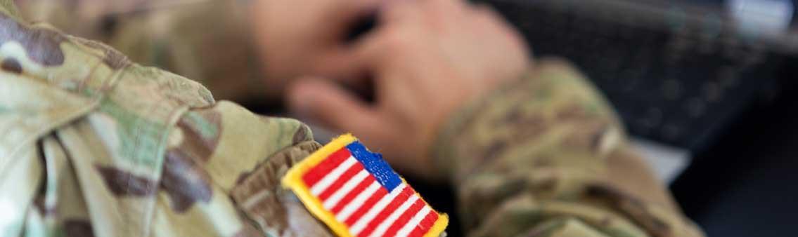 veterans services military uniform