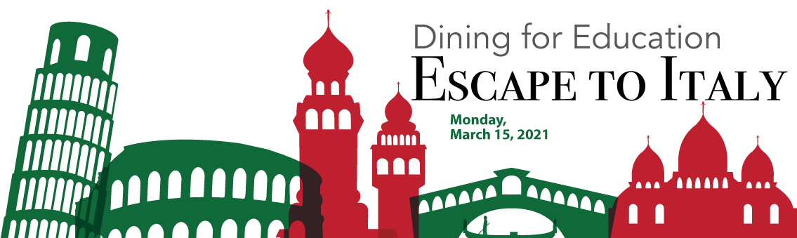 Dining for Education Escape to Italy